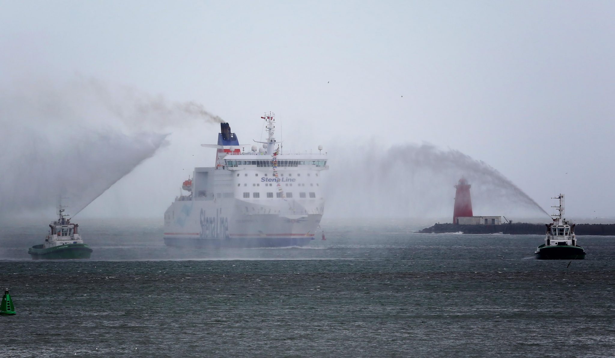 STENA LINE LAUNCHES NEWSUPERFASTFERRY AT DUBLIN PORT
