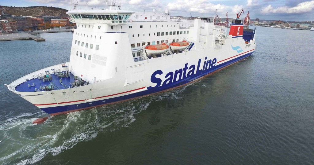 LEADING ferry company, Stena Line, is getting a Christmas makeover this year complete with a historic name change to Santa Line across its European Network.  Not only that, they also celebrated by giving one of their ships in Gothenburg a festive new look for the day and are introducing a fun app which customers can use to win prizes as they journey across the Irish Sea. Passengers can Ho Ho Go to their festive destinations in Ireland and Britain from only £79* for single car and driver with the widest choice of routes and sailings on the Irish Sea.  For more information or to book your very own Santa Line trip log onto www.stenaline.co.uk or https://www.facebook.com/StenaLineUKIE/ or call 08447 70 70 70. Follow Stena Line on Twitter @StenaLineIE