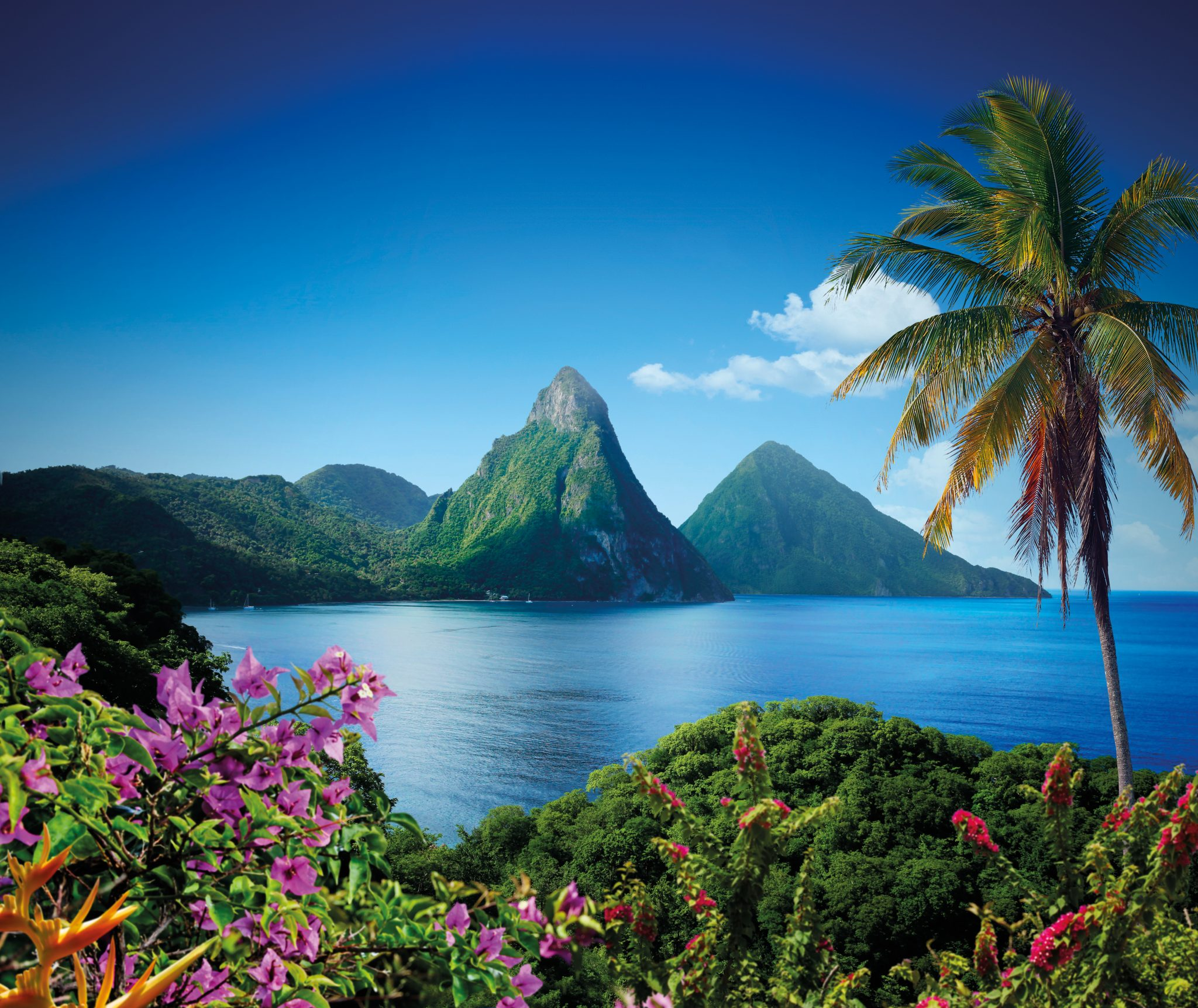 HEAD OVER HEELS IN ST. LUCIA