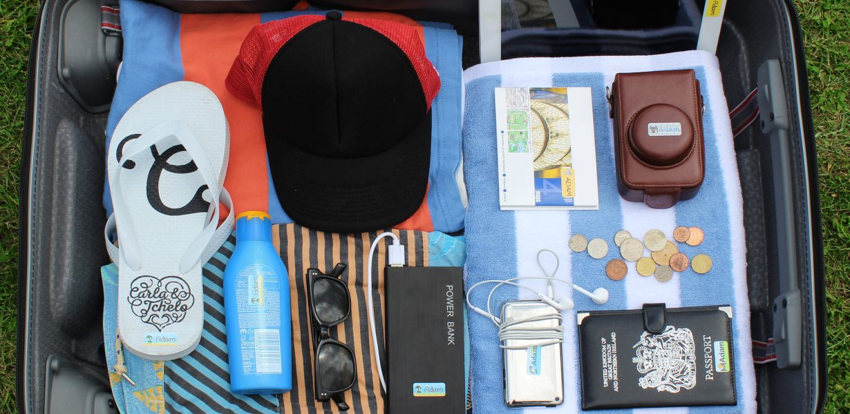 HOLIDAY LUGGAGE UNZIPPED,  BRITS TAKE OVER £3,000 WORTH OF GOODS ON HOLIDAY