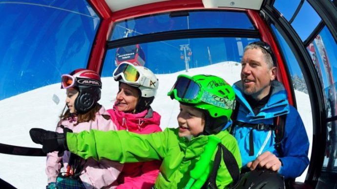 Five top ski resorts for families, in the Austrian Tirol