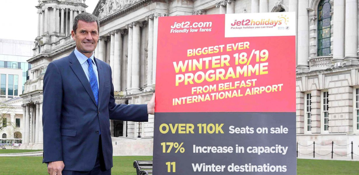 Jet2.com and Jet2holidays announce biggest ever winter programme from Belfast – with new winter route to Madeira
