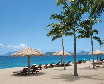 Paradise Beach Resort Debuts Beach Houses The First to be Built Hovering Above the Sand on Nevis Island