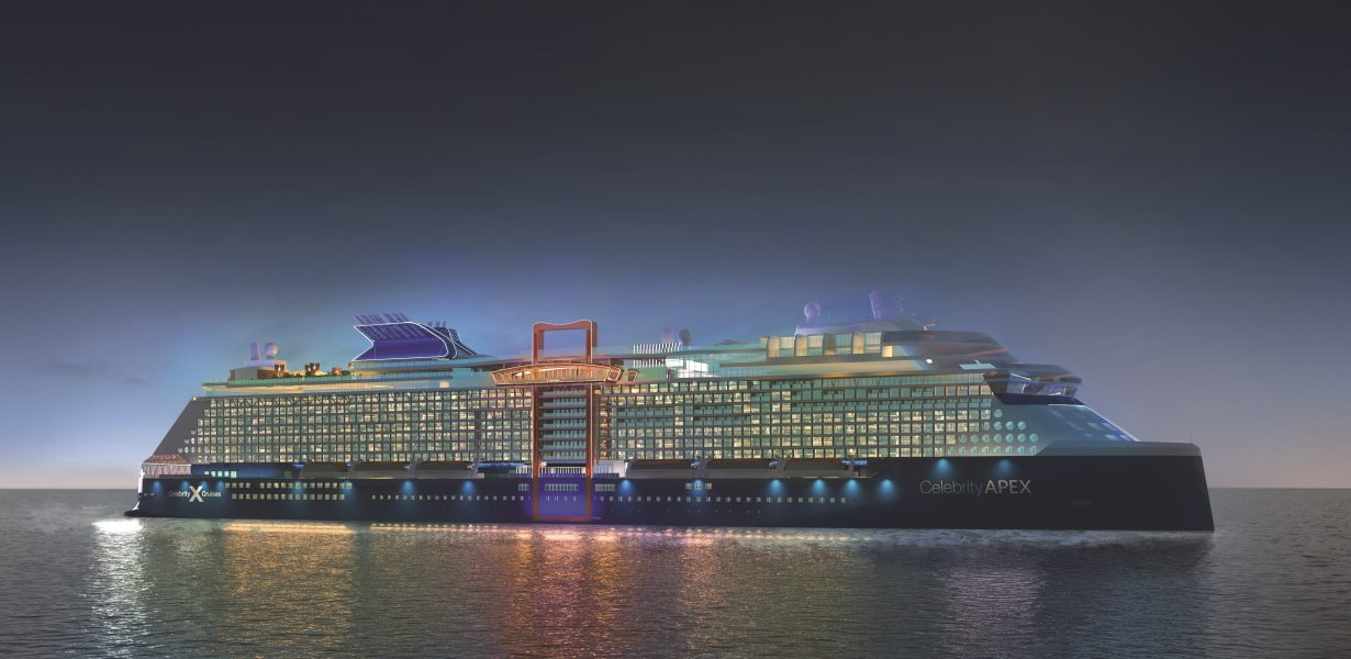 UK investment reaches Apex for Celebrity Cruises