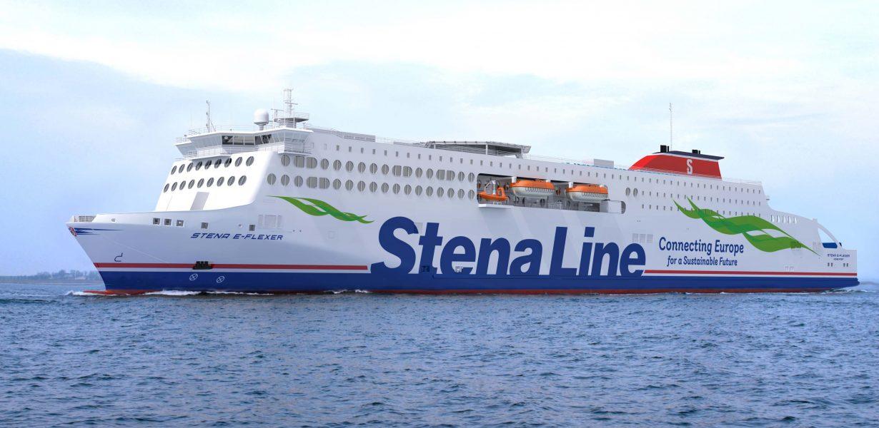 Stena Line's three Irish Sea E-Flexer ships now in construction