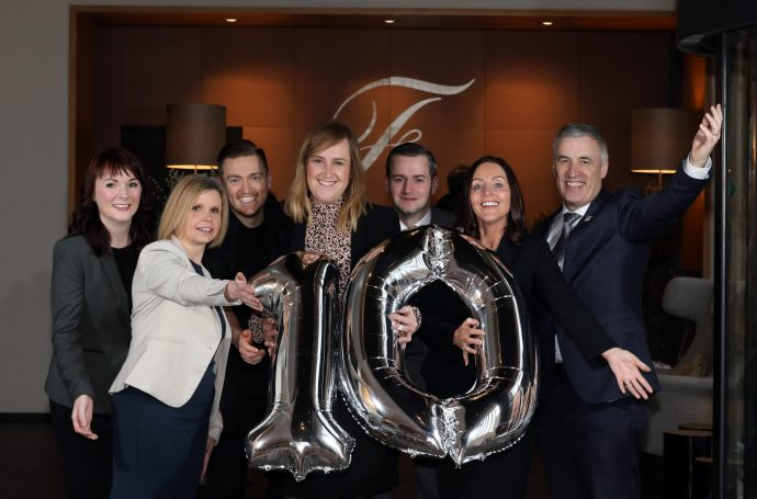 THE FITZWILLIAM HOTEL CELEBRATES TEN YEARS AT THE HEART OF BELFAST