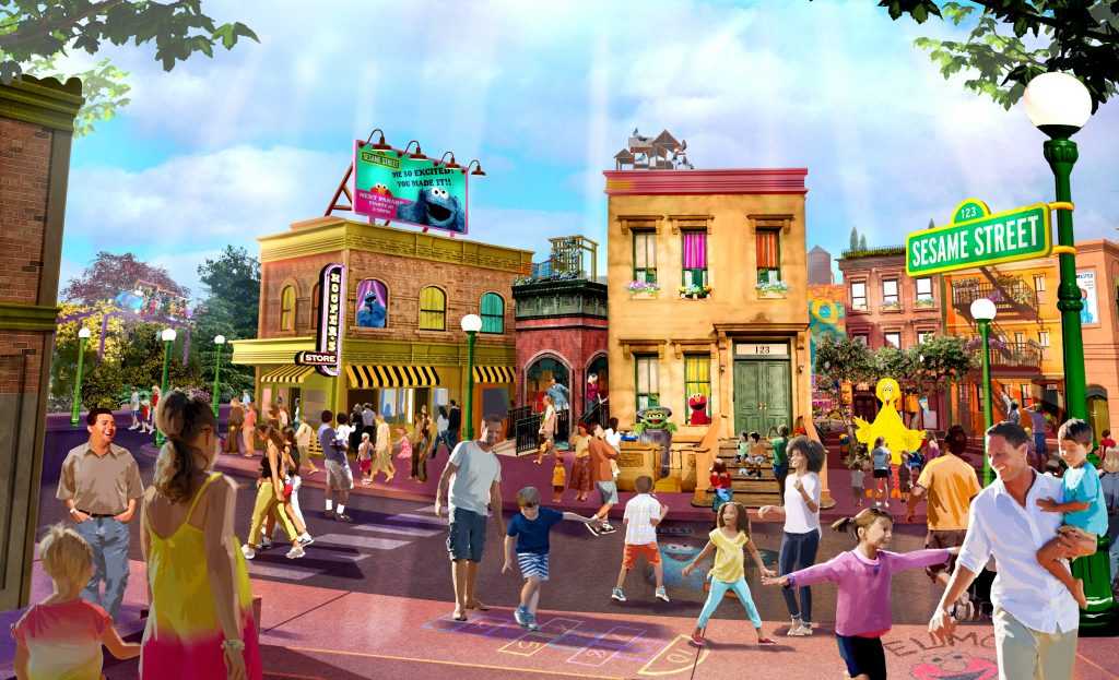 SESAME STREET AT SEAWORLD ORLANDO OPENING DATE ANNOUNCED