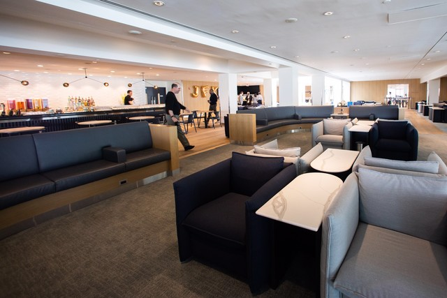 BRITISH AIRWAYS NEW CLUB LOUNG OPENS AT JFK