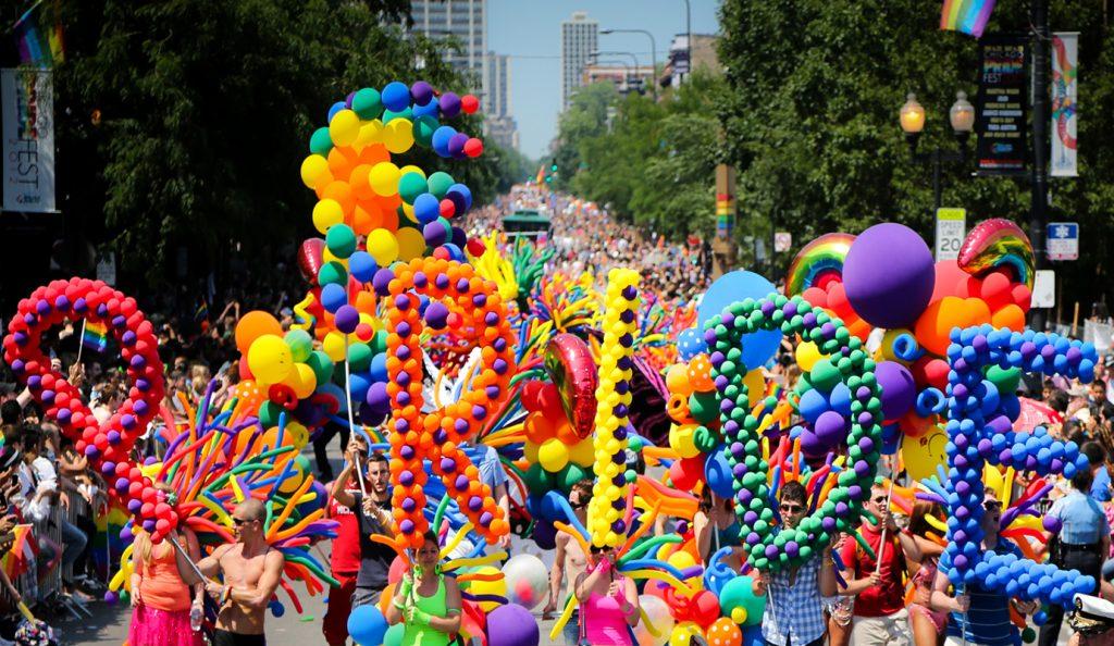 GAY PARADE IN SPAIN