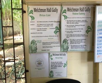 Welchman Hall Gully